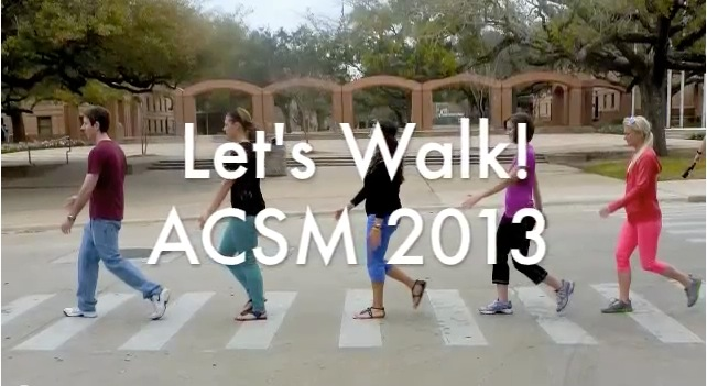 Let's Walk!  Great video from our Volunteers!
